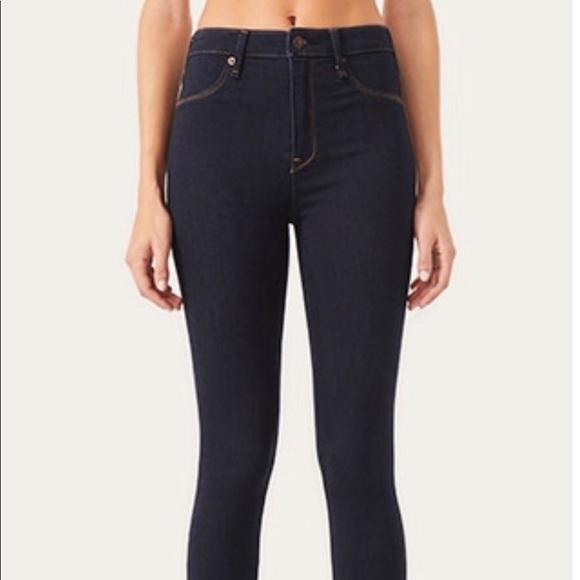 Abercrombie & Fitch Denim - Abercrombie & Fitch Dark Wash Jegging Jeans 6L